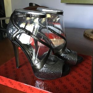 Guess Shoes - Guess Strappy Heels Size 8.5